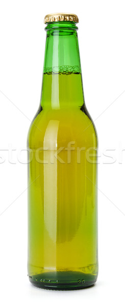 Green beer bottle Stock photo © icefront