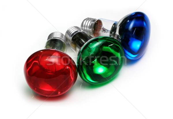 RGB Bulbs Stock photo © icefront