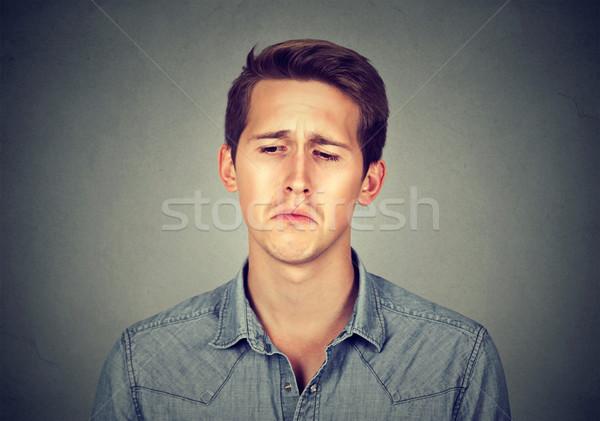 portrait of a sad man Stock photo © ichiosea