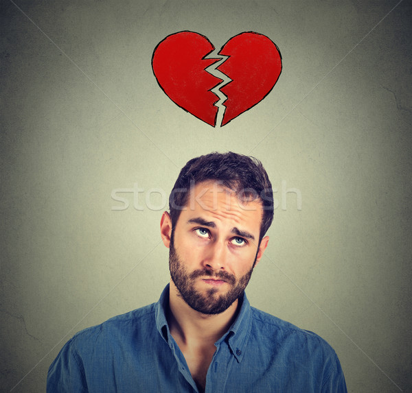 Heart broken man  Stock photo © ichiosea