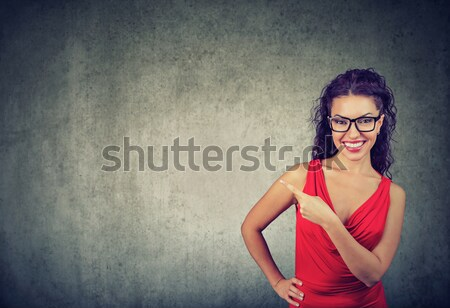 Beautiful woman with shoppping bags and credit card Stock photo © ichiosea