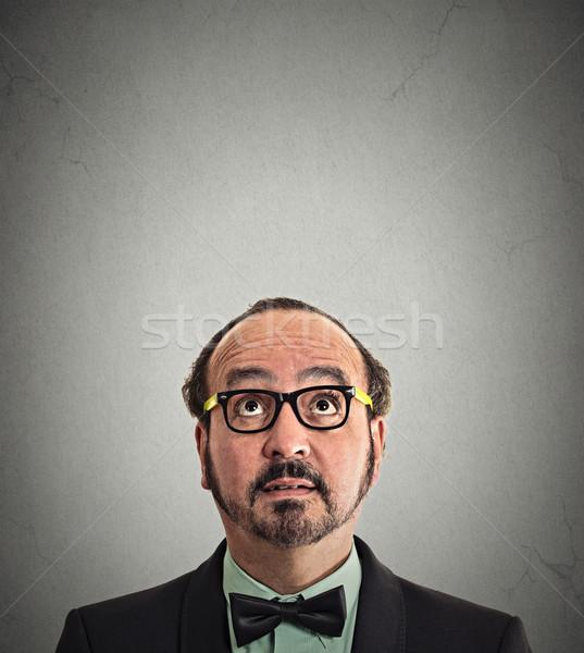 Man denken portret Stockfoto © ichiosea
