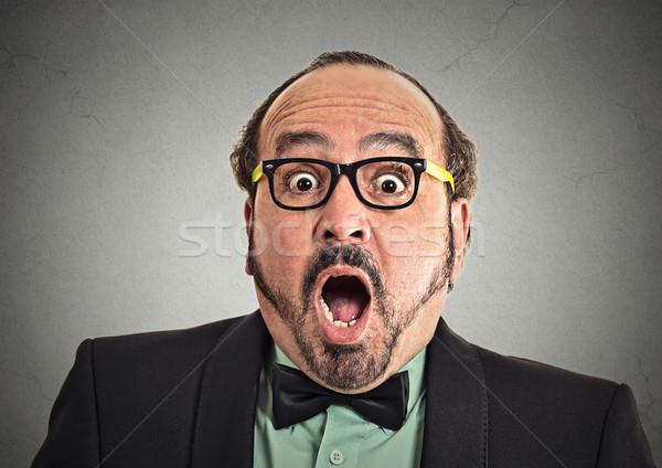 Surprise astonished man Stock photo © ichiosea