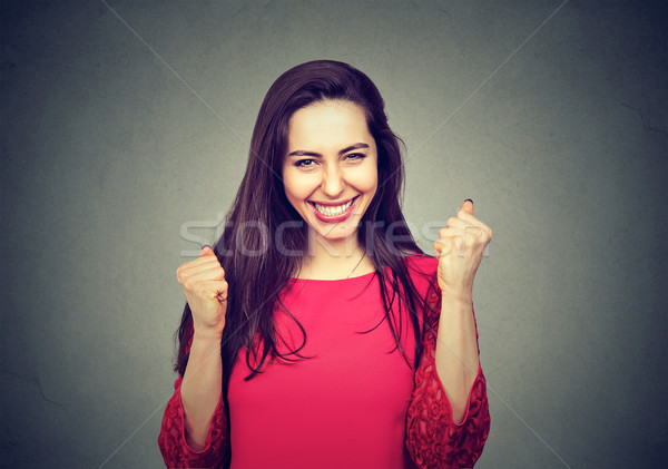 portrait of a happy successful woman Stock photo © ichiosea