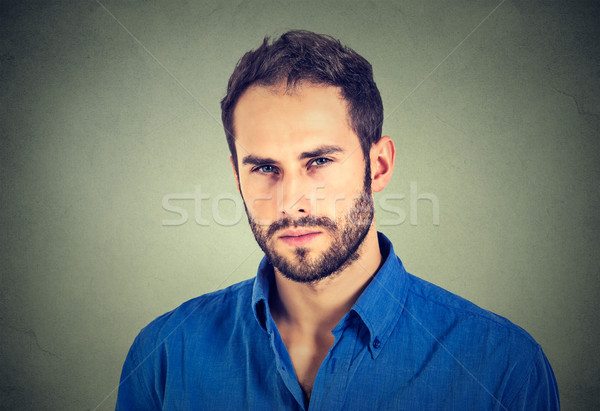 Suspicious angry man  Stock photo © ichiosea