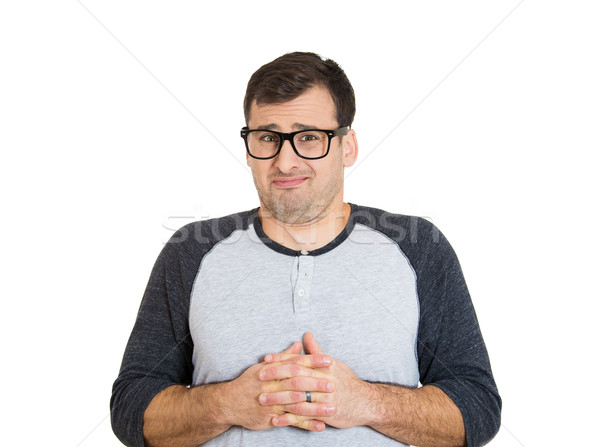 timid nerdy guy Stock photo © ichiosea