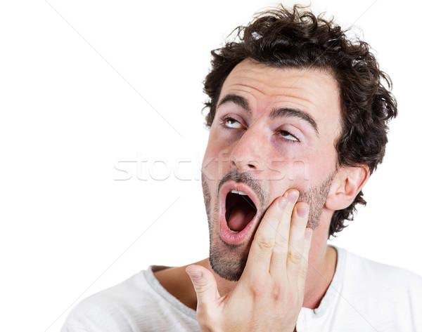 зубная боль портрет молодым человеком зубов боль Сток-фото © ichiosea