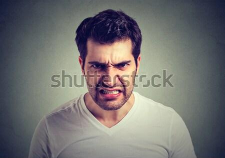 сердиться молодым человеком кричали фон портрет более Сток-фото © ichiosea