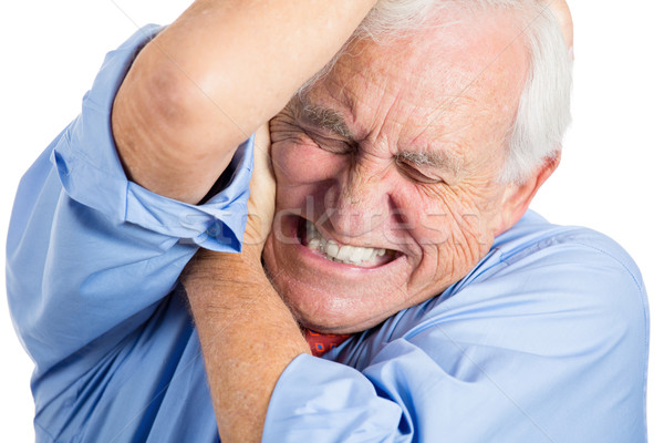 old man in great pain Stock photo © ichiosea