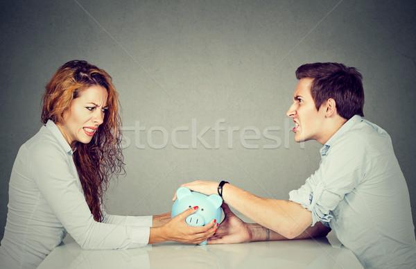 離婚 妻 夫 することができます しない ストックフォト © ichiosea