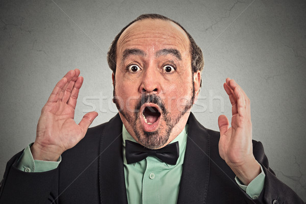Surprise astonished man. Stock photo © ichiosea
