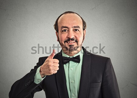 человека очки глядя портрет зрелый Сток-фото © ichiosea