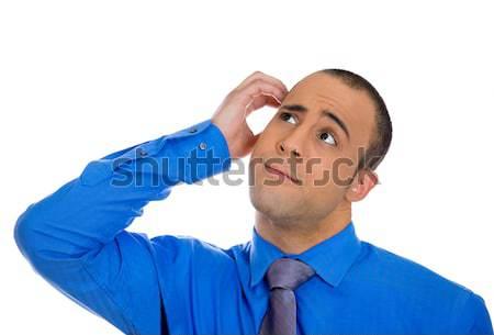 Man scratching head Stock photo © ichiosea