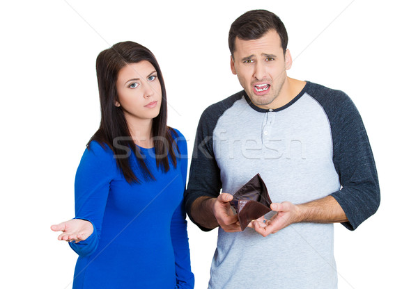 couple upset that they are financially broke Stock photo © ichiosea