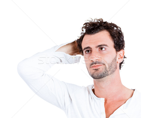 Problemen portret triest depressief Stockfoto © ichiosea