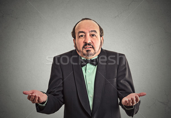 arrogant clueless middle aged business man Stock photo © ichiosea