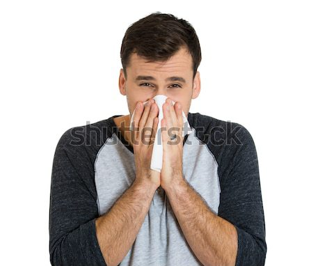 man having flu Stock photo © ichiosea