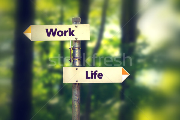 balance life and work concept Stock photo © ichiosea