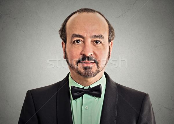 Ritratto maturo gentiluomo indossare bell'uomo Foto d'archivio © ichiosea