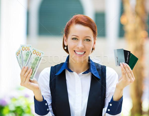 банка агент электронных деньги Сток-фото © ichiosea