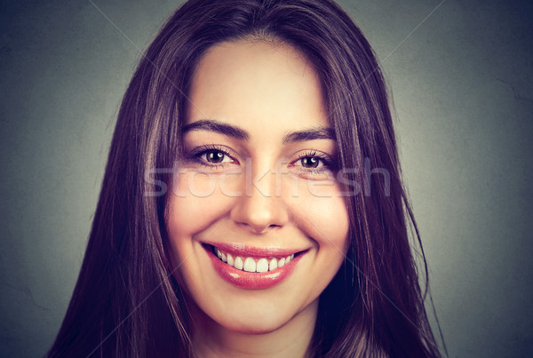 Portrait of a beautiful smiling woman with perfect white teeth Stock photo © ichiosea