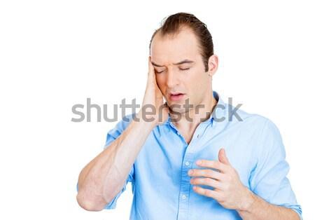 человека головная боль портрет деловой человек Сток-фото © ichiosea