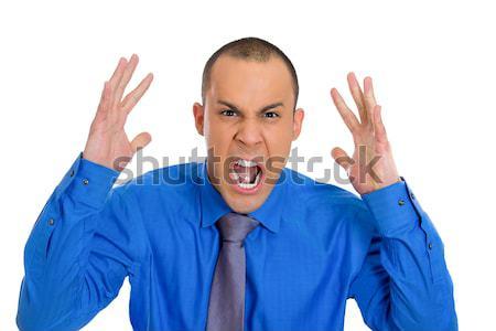 Screaming man Stock photo © ichiosea