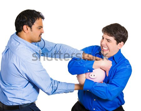 couple unwilling to listen to each other Stock photo © ichiosea