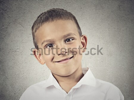 Angry disgusted boy Stock photo © ichiosea