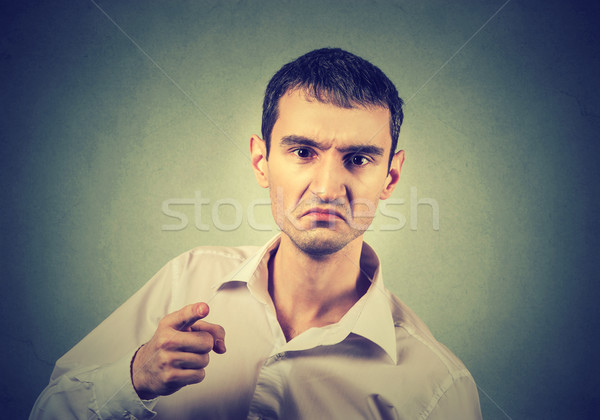 portrait of a angry young man Stock photo © ichiosea