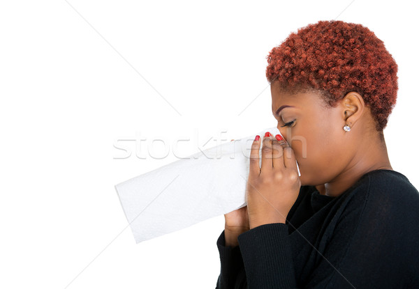 Sick woman, flu Stock photo © ichiosea