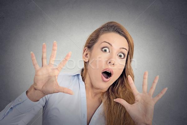 Scared woman  Stock photo © ichiosea