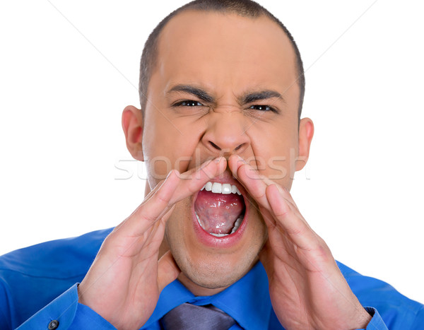 Man screaming Stock photo © ichiosea