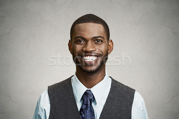 Portrait happy, smiling corporate executive Stock photo © ichiosea