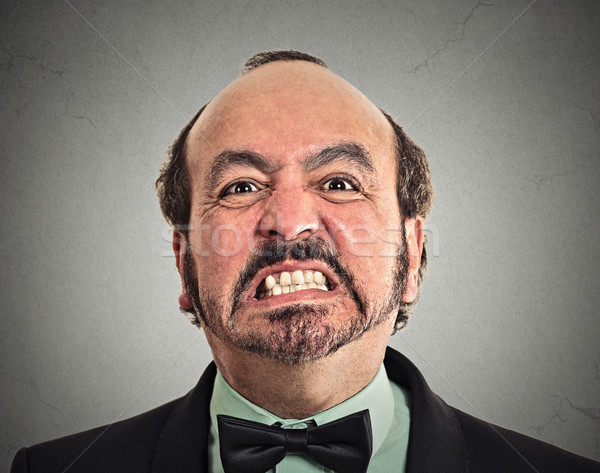 portrait of middle aged angry man Stock photo © ichiosea
