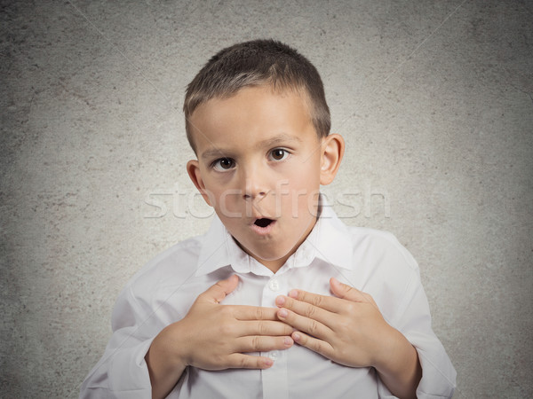 Surprised child, boy Stock photo © ichiosea