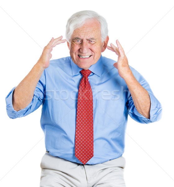 歳の男性 クローズアップ 肖像 高齢者 悲しい ストックフォト © ichiosea