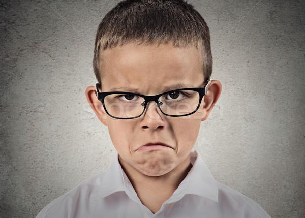 Unhappy sad boy Stock photo © ichiosea