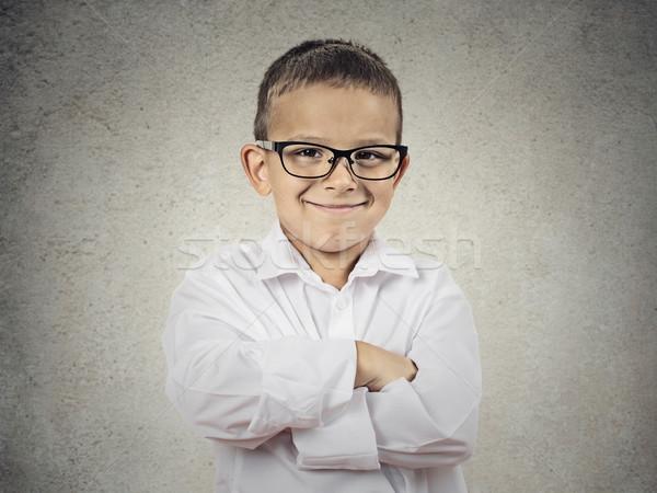 счастливым мало мальчика небольшой человека Сток-фото © ichiosea