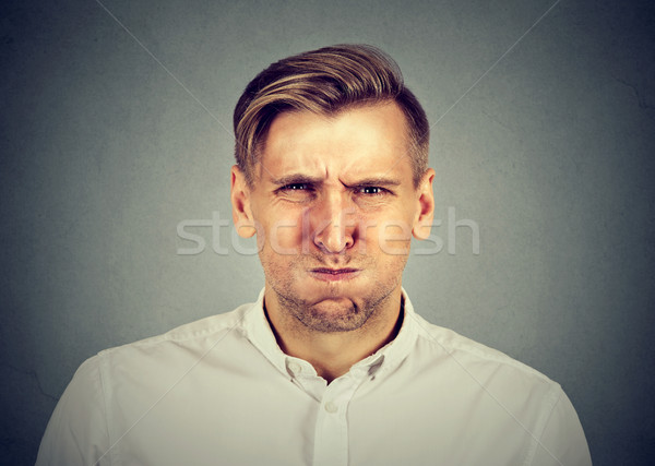angry young man, about to have nervous breakdown Stock photo © ichiosea
