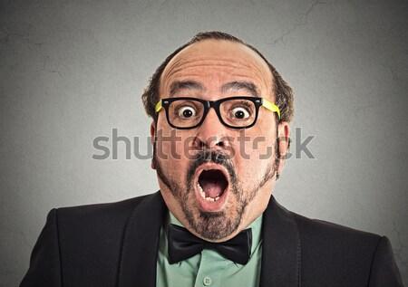 Endişeli adam portre adam Stok fotoğraf © ichiosea