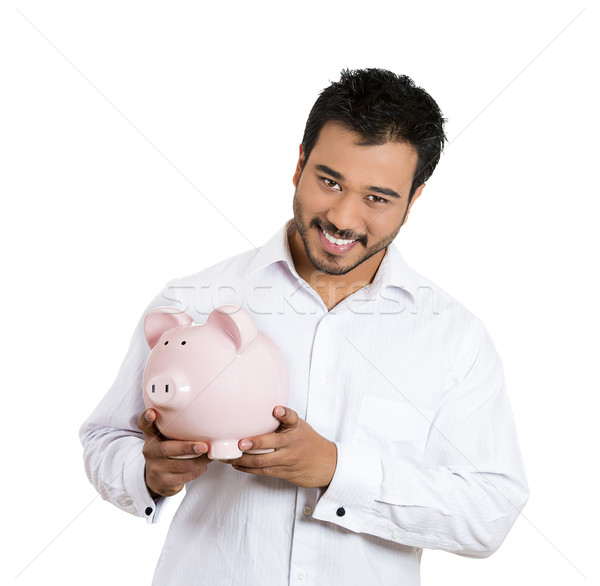 Happy savings Stock photo © ichiosea