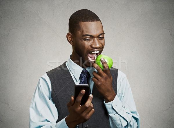 занят жизни бизнесмен портрет серьезный Сток-фото © ichiosea