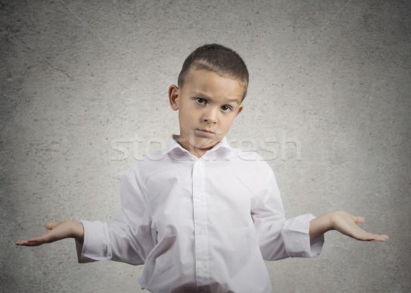 Dziecko chłopca broni na zewnątrz Zdjęcia stock © ichiosea