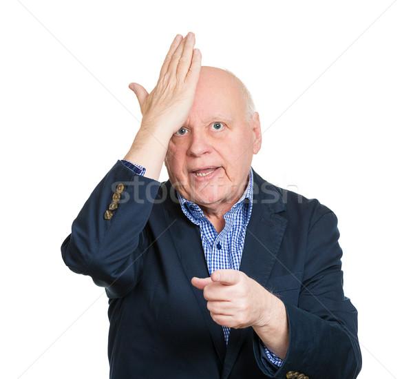 портрет старший зрелый старые деловой человек Сток-фото © ichiosea