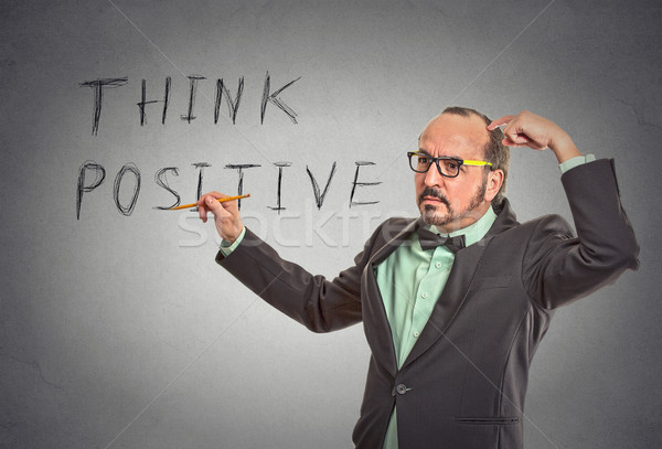 think positive  Stock photo © ichiosea