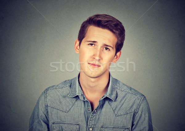 портрет молодые скучно человека мальчика мужчины Сток-фото © ichiosea