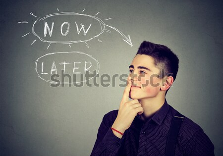 Desperate man screaming asking for help forgiveness Stock photo © ichiosea