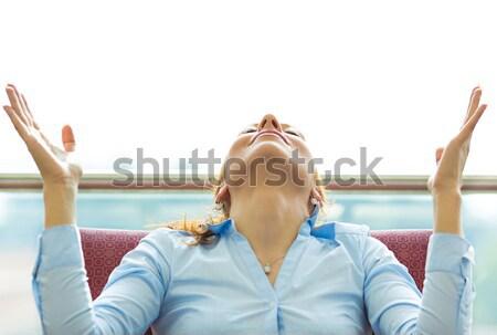 Business woman relaxing  Stock photo © ichiosea