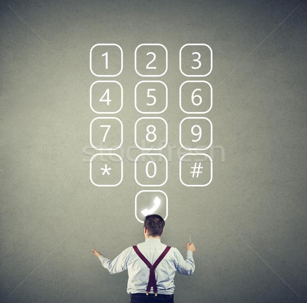 顧客 コール サービス 匿名の 企業 男 ストックフォト © ichiosea